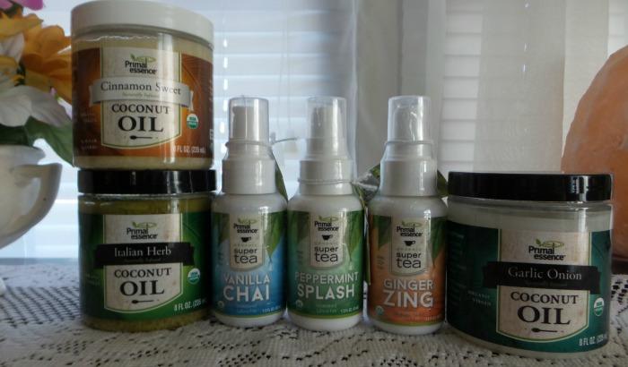Primal Essence Coconut Oils and Super Teas