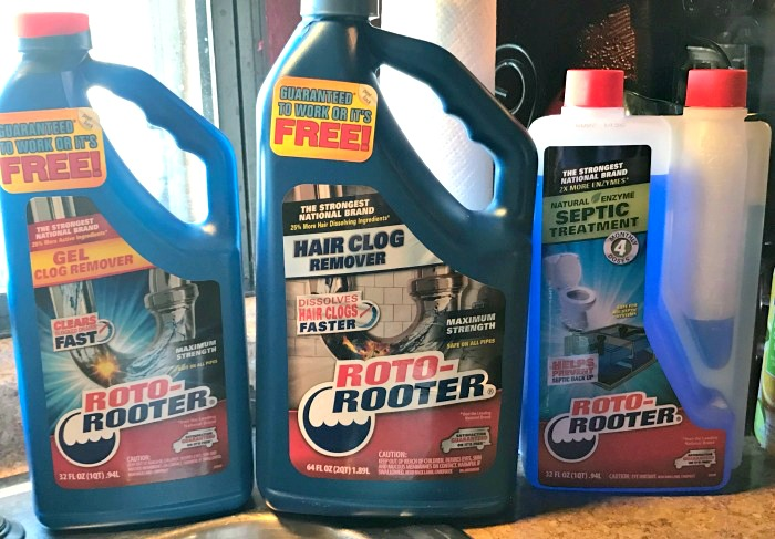 Roto-Rooter Plumbing Products Solves Clogs and Backups