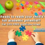 100 Free Skill Building Practice Questions for Pre-K to 8th Graders from TestingMom.com