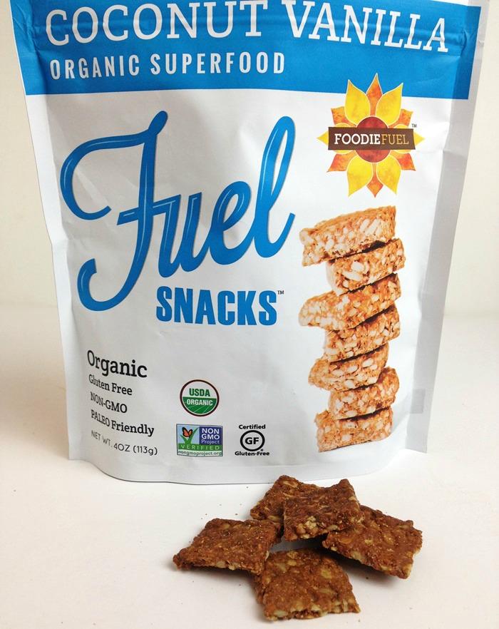 Foodie Fuel Snacks - Coconut Vanilla