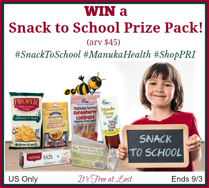 Snack to School Giveaway button