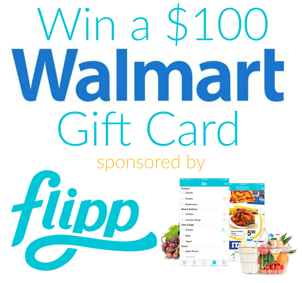 Win A $100 Walmart Gift Card From Flipp