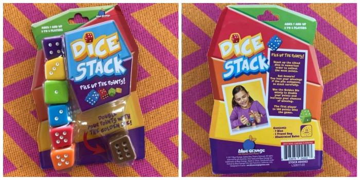 Blue Orange Games Dice Stack