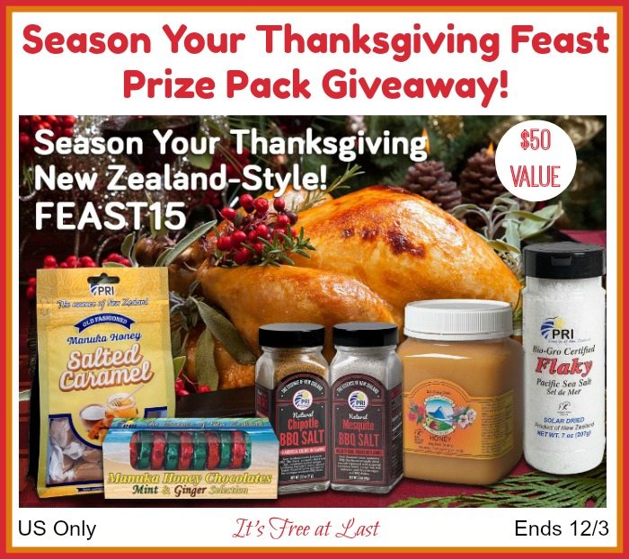 Season Your Thanksgiving Feast Prize Pack giveaway button