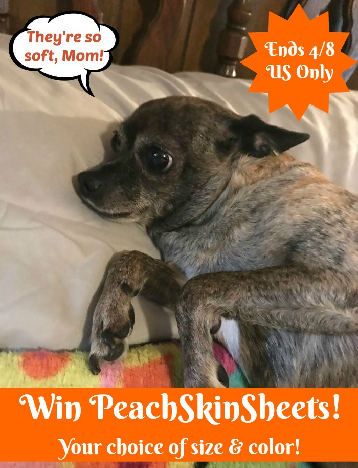 Win a Set of PeachSkinSheets in your choice of size and color