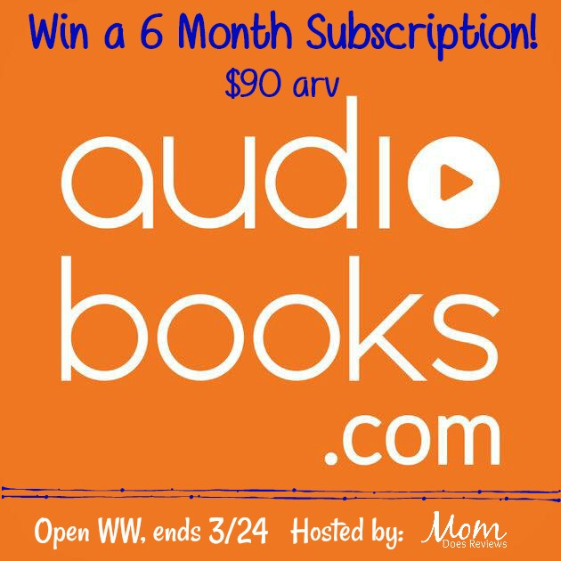 Win 6 month subscription to AudioBooks.com