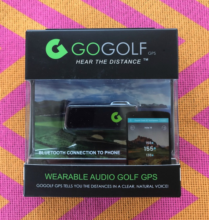 GoGolf Wearable Audio Golf GPS is the Perfect Gift for Golfing Dads
