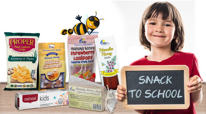 Give Them Healthy Back to School Snacks with Manuka Honey Snacks #SnackToSchool #ShopPRI #ManukaHealth