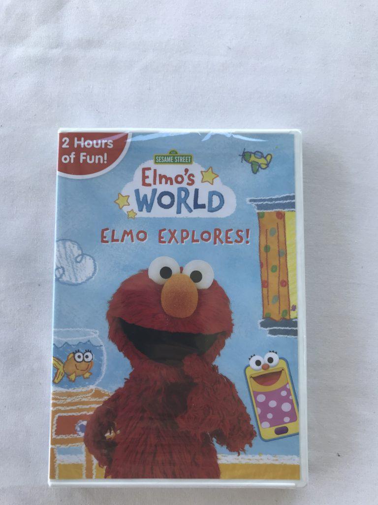 Sesame Street Elmo S World Elmo Explores On Dvd October