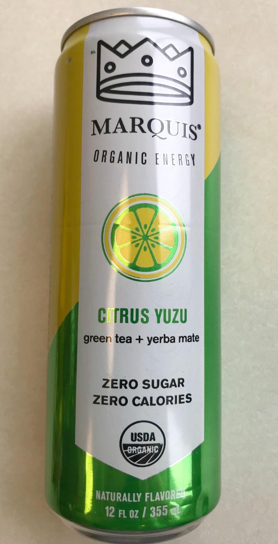 Marquis Organic Energy - Citrus Yuzu