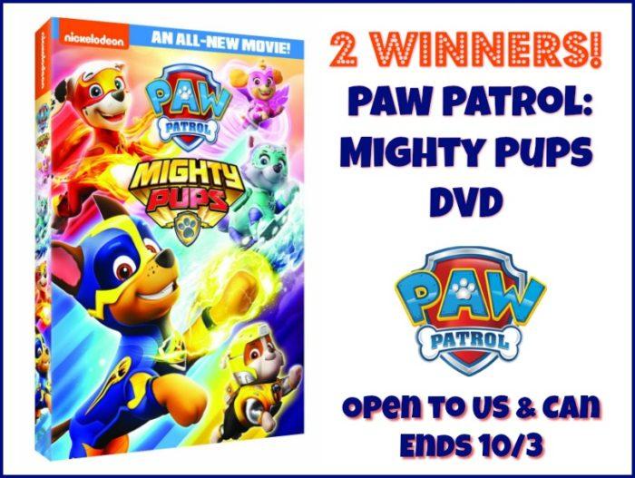 Win Paw Patrol DVD