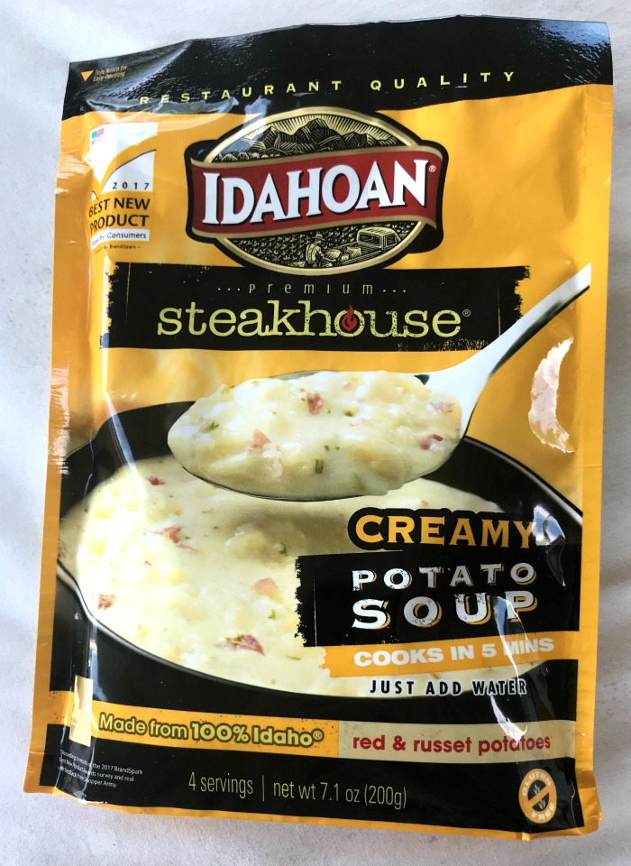 Idahoan Steakhouse Creamy Potato Soup