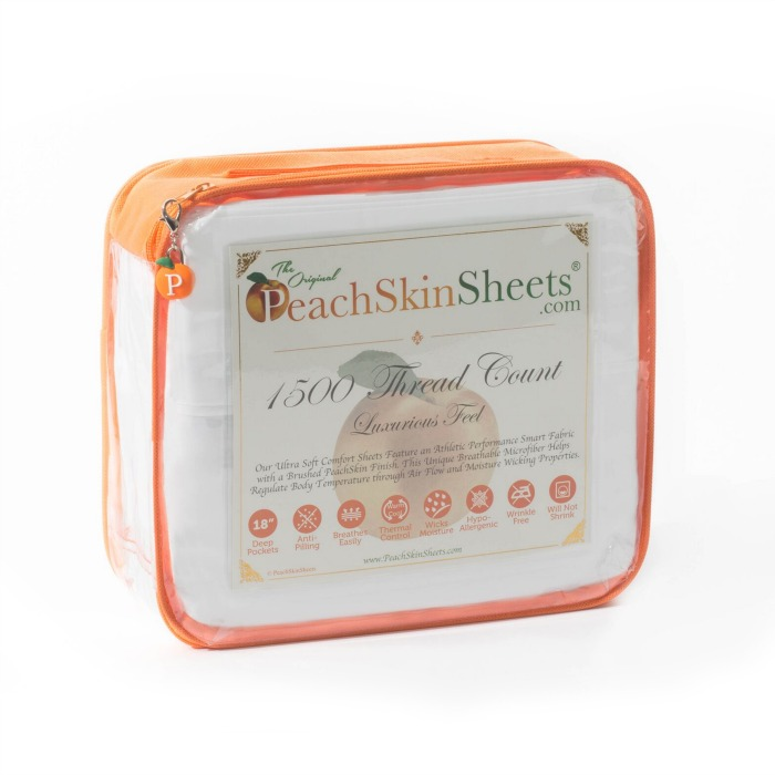 Sleep Better with PeachSkinSheets