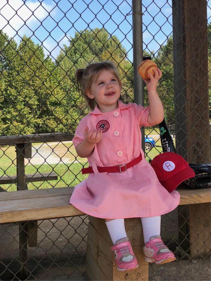 baseball rockford peach costume