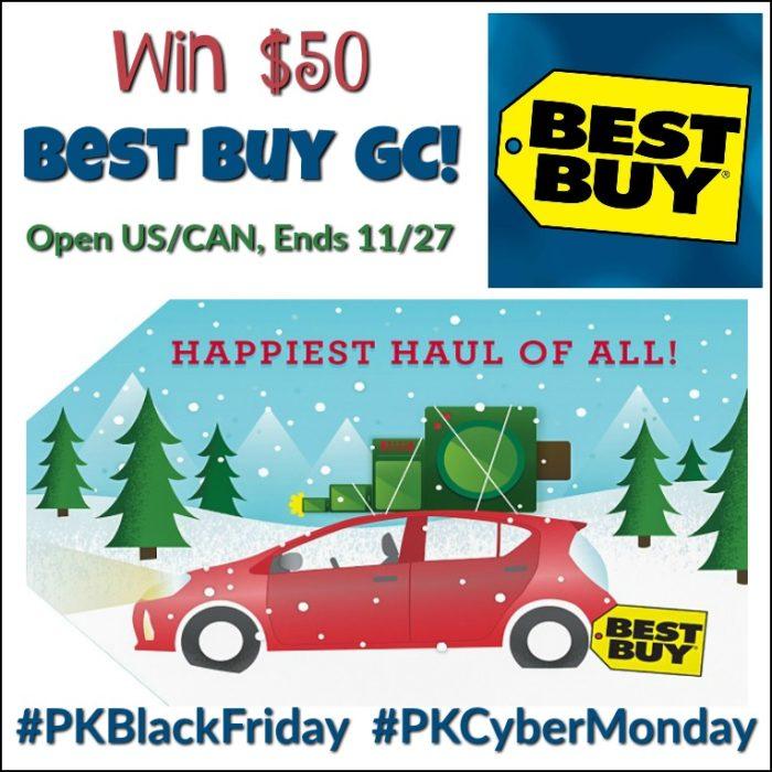 Win $50 Best Buy GC