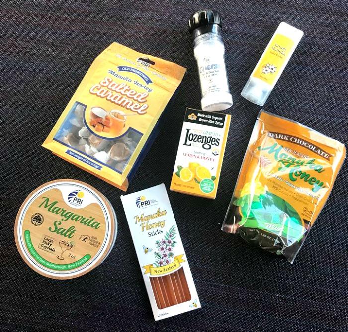 PRI Manuka Honey products