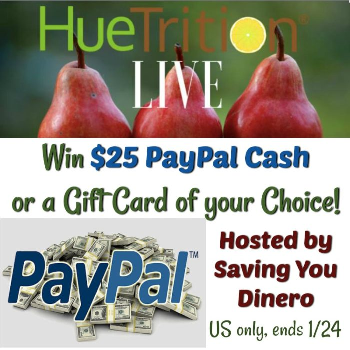 Win $25 paypal or gc of choice