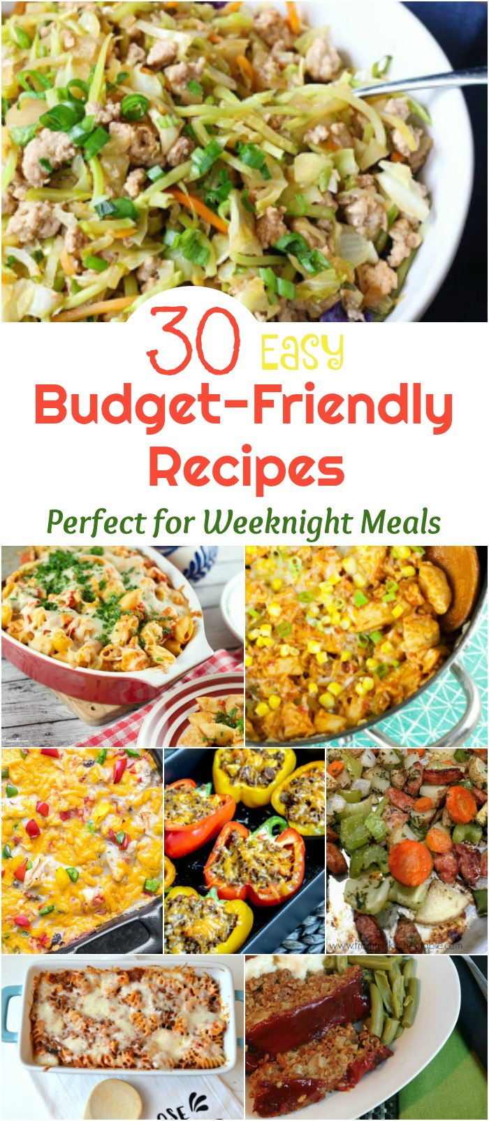 30 Easy Budget-Friendly Recipes Perfect for Weeknight Meals