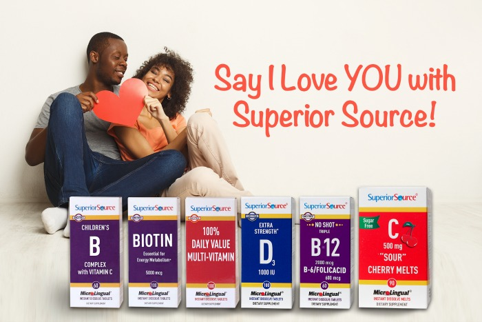 "Say ""I Love YOU"" with Superior Source Vitamins #SuperiorSource"