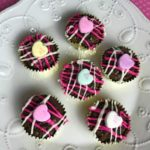 Sweetheart brownie bites