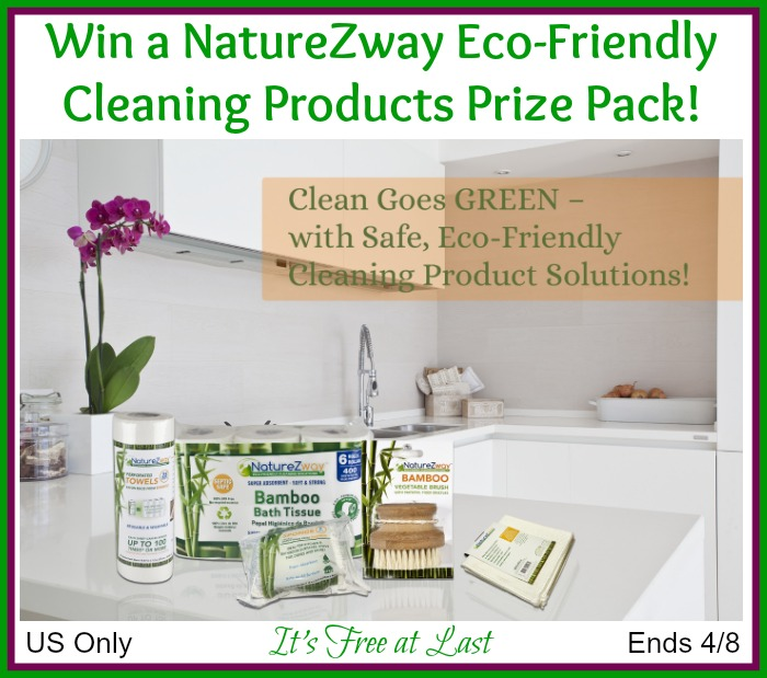 #Win a #NatureZway Eco-Friendly Cleaning Products Prize Pack! #NatureZwayEco