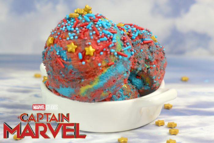 Captain Marvel Cookie dough