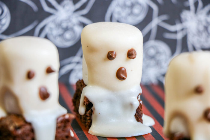 Halloween Boo Brownies