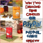 #Win 2 Diamond Candles or $60 PayPal Cash!