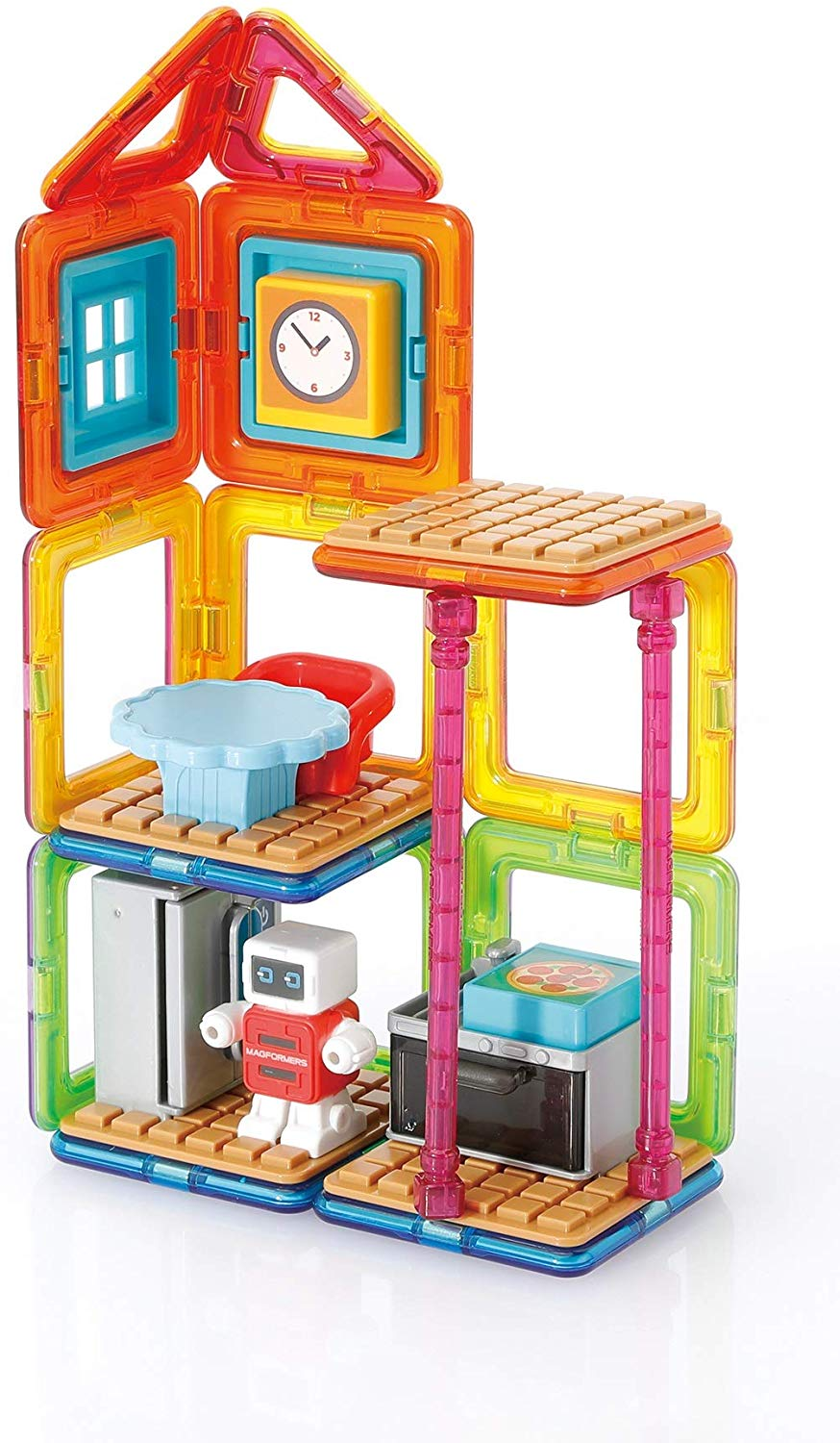 pmagformers minibots cooking kitchen