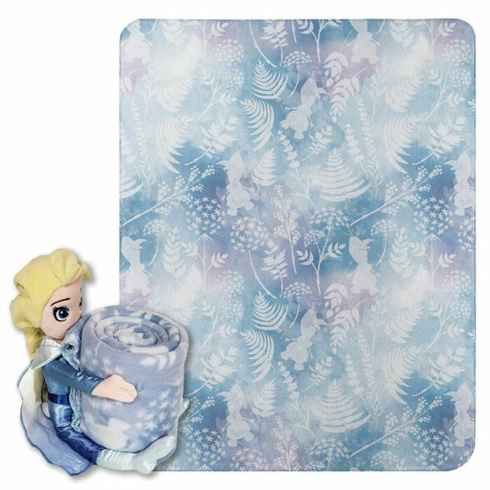 Northwest Disney Frozen 2 Fall Foliage Micro Raschel Throw Blanket