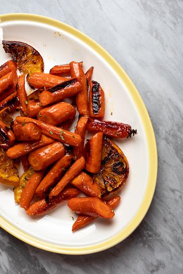 So Easy! Honey Orange Glazed Carrots