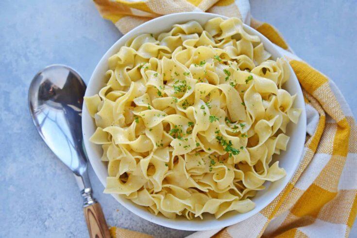 Seasoned Buttered Noodles