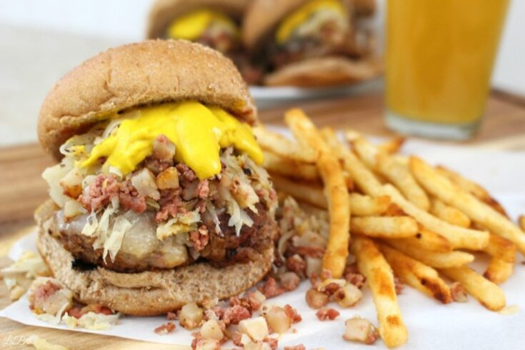 Corned Beef Hash Burgers