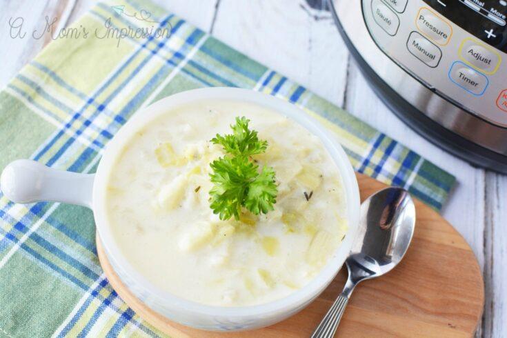 Instant Pot Irish Colcannon Soup