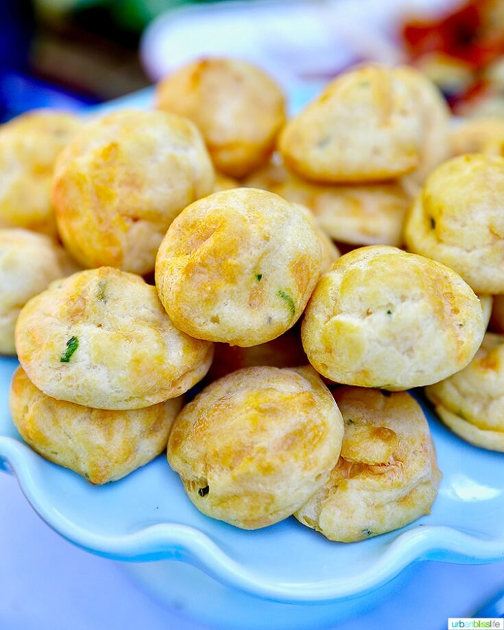 Gougère Bites: Dairy-Free Cheese Puff Appetizers