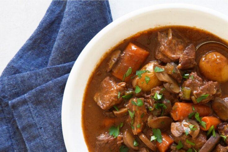 Irish Beef Stew Slow Cooker