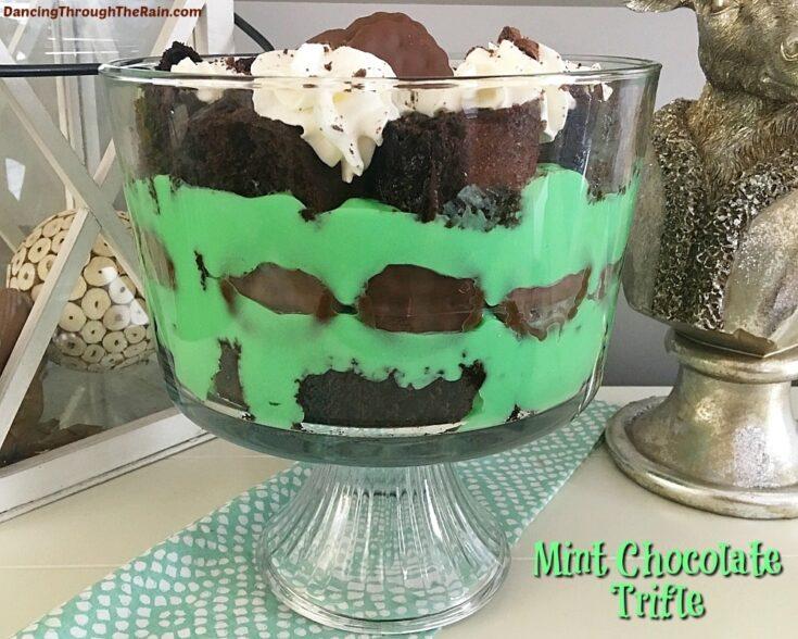 Mint Chocolate Trifle