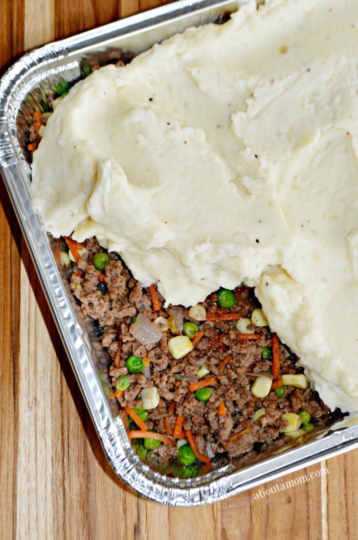 Freezer Friendly Shepherd's Pie