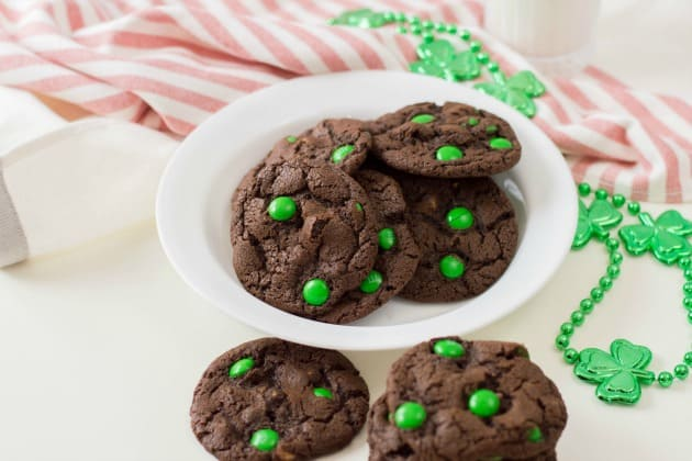St. Patrick's Day Chocolate Cookies