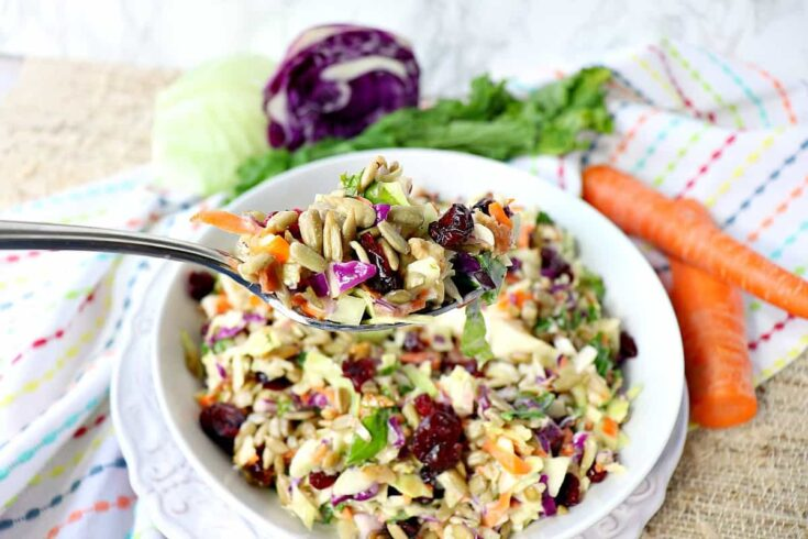 Make-Ahead Sunflower Crunch Salad