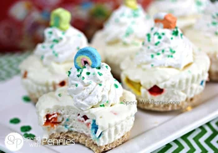 Lucky Charms Cheesecake (No Bake)