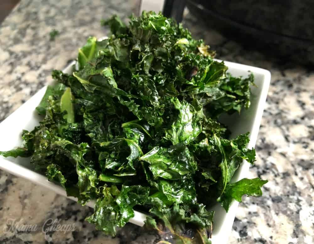 How to Cook Kale Chips in an Air Fryer