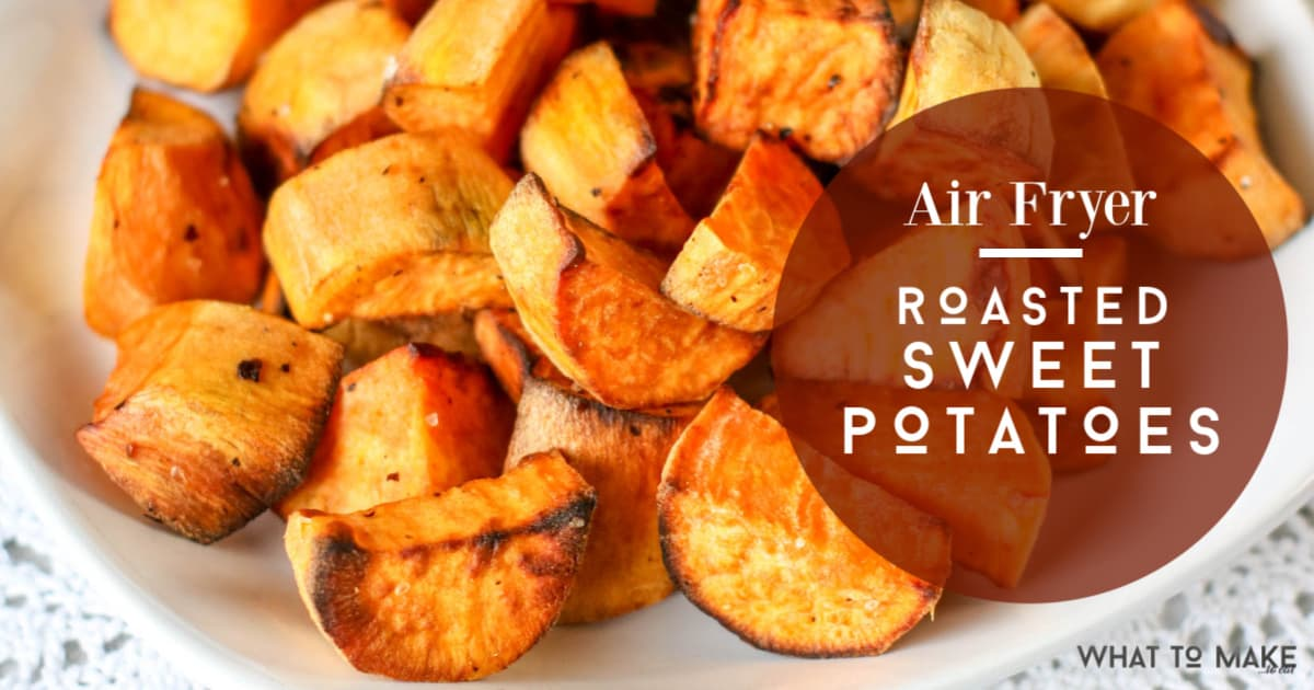 An easy way to cook sweet potatoes in an air fryer