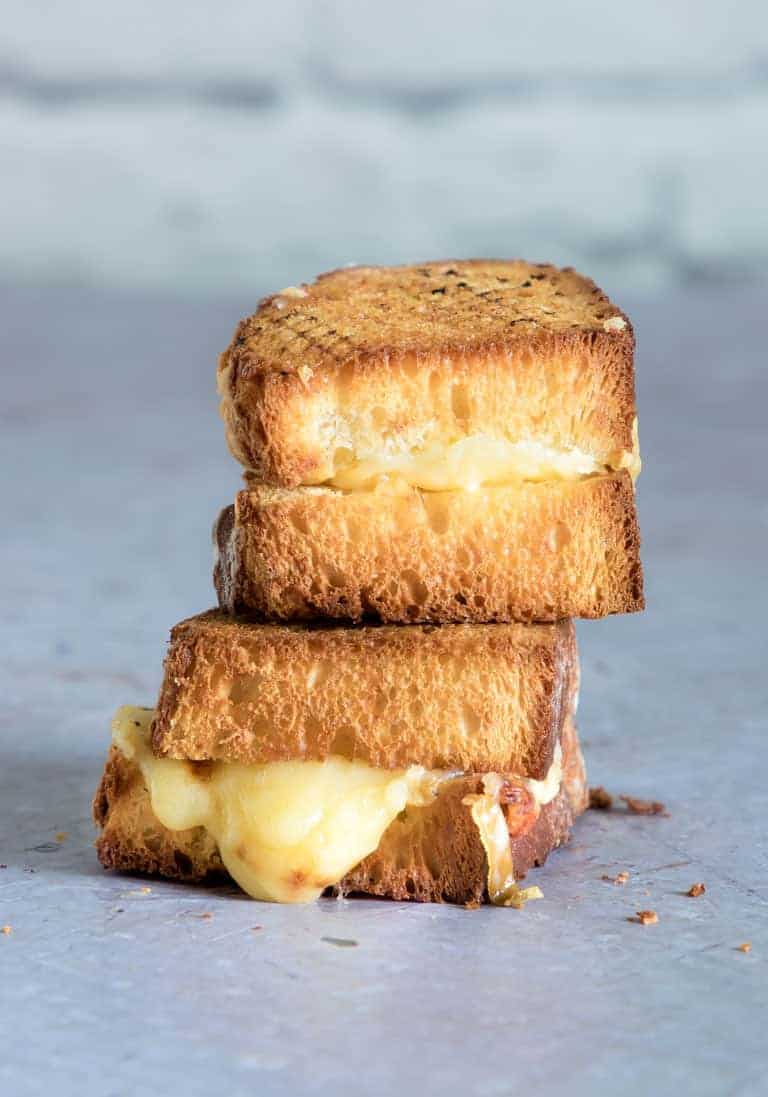 Best Ever Air Fryer Grilled Cheese