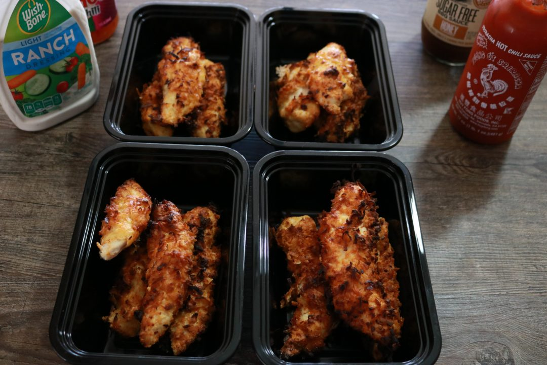 Air Fryer Coconut Chicken Tenders Recipe