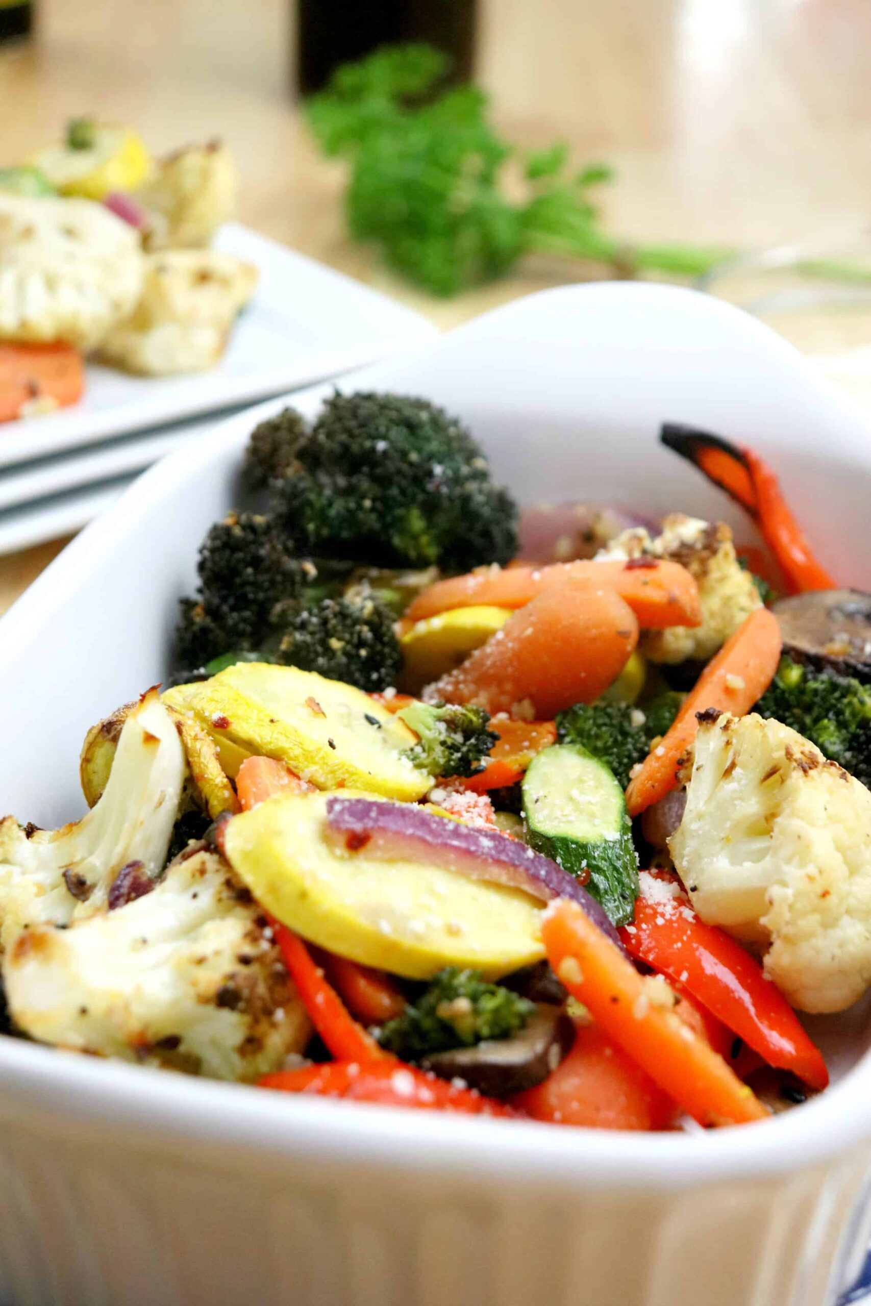 Delicious Air Fryer Roasted Vegetables