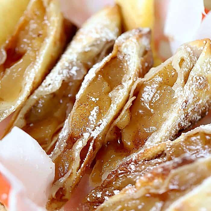 Air Fryer Apple Pie Egg Roll Recipe