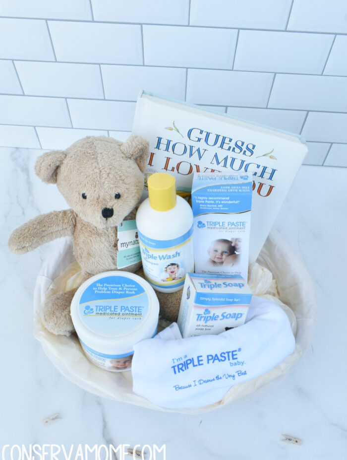 8 Winners- Triple Paste Baby Gift Baskets ($90 arv)
