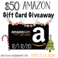 Win $50 Amazon GC