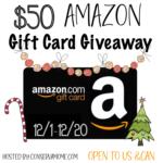 Win $50 Amazon GC